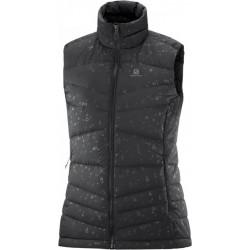 Salomon Transition Down Vest W black C13901 dámská zimní péřová vesta