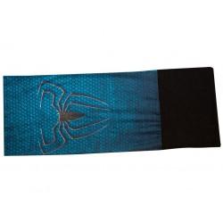 Novia multifunkční šátek fleece 06 modrý pavouk zimní tubus