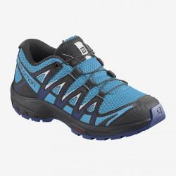 Salomon XA Pro 3D J ethereal blue/surf the web/white 411244 dětské nízké prodyšné boty