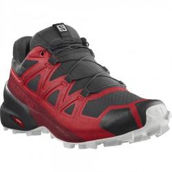 _Salomon Speedcross 5 goji berry/white/black 413086 pánské prodyšné běžecké boty změřeno