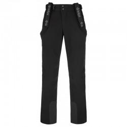 Kilpi Rhea-M černá pánské nepromokavé zimní lyžařské kalhoty 10 000