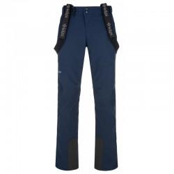 Kilpi Rhea-M tmavě modrá pánské nepromokavé zimní lyžařské kalhoty 10 000