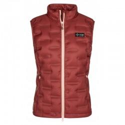 Kilpi Kenai-W tmavě červená dámská lehká péřová vesta