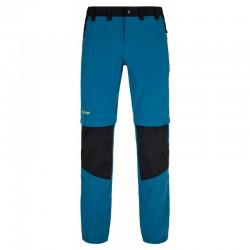 _Kilpi Hosio-M tmavě modrá pánské odepínací turistické kalhoty změřeno