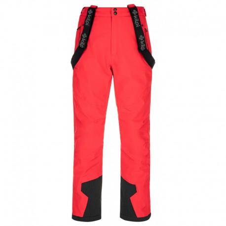 Kilpi Reddy-M červená pánské nepromokavé zimní lyžařské kalhoty 20000