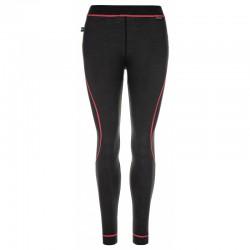 Kilpi Mavora Bottom-W černá dámské spodky dlouhá nohavice 100% Merino vlna