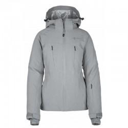 Kilpi Addison-W šedá dámská nepromokavá zimní lyžařská bunda 10000 1