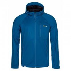 _Kilpi Enys-M tmavě modrá pánská lehká softshellová bunda Siberium 10000 SRC HS změřeno