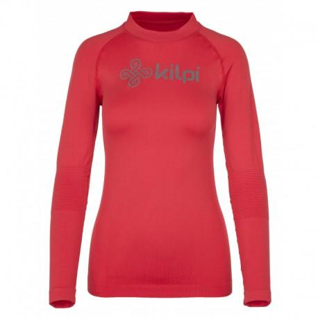Kilpi Divide-W červená dámské funkční termo triko dlouhý rukáv Opti-Dry