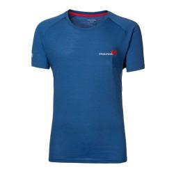 Progress Aries modrá pánské triko kratký rukáv merino vlna1