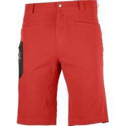 Salomon Wayfarer Shorts M goji berry C14898 pánské lehké softshellové kraťasy1