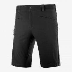 _Salomon Wayfarer Shorts M black C14895 pánské lehké softshellové kraťasy změřeno