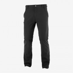 Salomon Wayfarer Zip Off Pants M black C15037 pánské odepínací turistické kalhot1