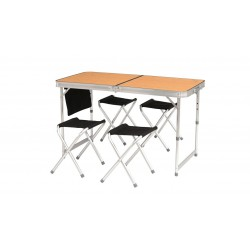 Easy Camp Belfort Picnic Table set kompingového stolu a židliček 1