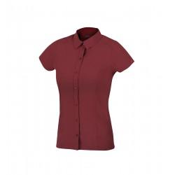 Direct Alpine Furka Lady palisander dámská letní lehká funkční košile krátký rukáv