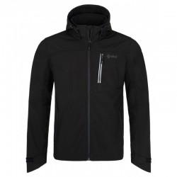 Kilpi Ravio-M černá pánská softshellová bunda Siberium SRC SS 10000 1