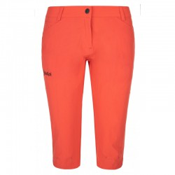 Kilpi Trenta-W korálová dámské funkční turistické outdoorové 3/4 kalhoty