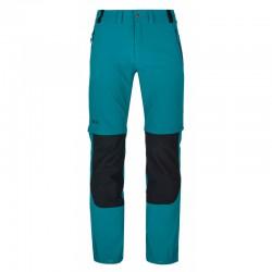 Kilpi Hosio-M tyrkysová pánské odepínací turistické kalhoty1