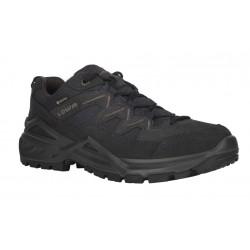 _Lowa Sirkos Evo gtx lo navy/brown pánské nízké nepromokavé trekové boty změřeno