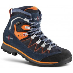 Kayland Plume Micro GTX blue orange pánské nepromokavé kombinované trekové boty