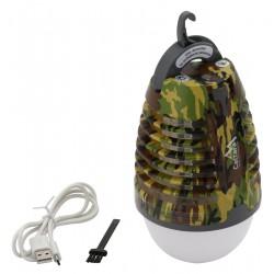 Cattara Svítilna PEAR ARMY nabíjecí USB + lapač hmyzu 13179