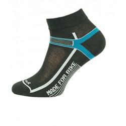 _Novia Cyklo Made For Bike modré sportovní ponožky - dárek k nákupu změřeno