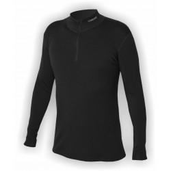 _Jitex Kacun 901 TSS černá pánské triko dlouhý rukáv - stojáček a zip u krku změřeno