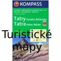Turistické mapy Slovensko